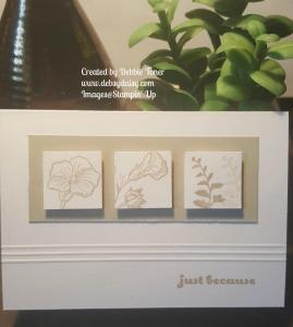 Butterfly Basics Inchy Card